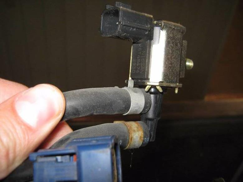 вакуумный электромагнитный клапан